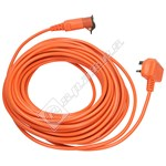 Flymo 20m Replacement Mains Cable (UK Plug)