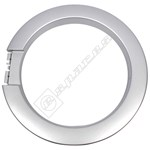 Silver Washing Machine Outer Door Ring