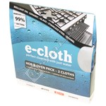 Hob & Oven Micro Fibre Cloth Pack