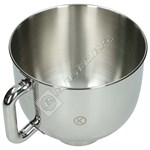 Food Mixer Stainless Steel Bowl Assembly- 5L