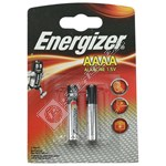 Energizer AAAA Battery - Pack of 2