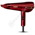 Babyliss 5560PU Elegance 2100 Hair Dryer - Red