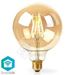 Nedis Smart WiFi 5W E27 LED Gold Dimmable Bulb