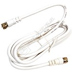 F Satellite Lead Plug To Plug