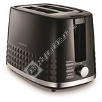 Morphy Richards 220021 Dimensions 2 Slice Toaster