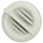White Heating Control Knob