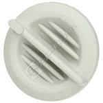 White Heating Control Knob
