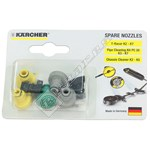 K2-K7 Pressure Washer T-Racer Nozzle Kit