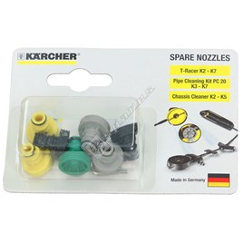 Karcher K2-K7 Pressure Washer T-Racer Nozzle Kit for K4.80MD ALU - ES659766