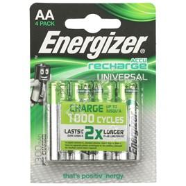 Accu Recharge Universal AA Batteries - Pack of 4 - ES1751216