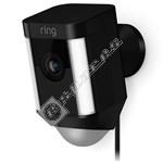 Hardwired Spotlight Camera - Black