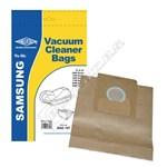 Electruepart BAG187 Samsung VP77 Vacuum Dust Bags - Pack of 5