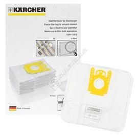 Vacuum Cleaner Fleece Paper Bags - Pack of 5 - ES544756