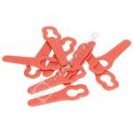Lawnmower Plastic Blades - Pack of 10