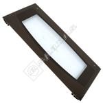 Brown Left Hand Oven Door Glass
