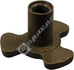Microwave Turntable Coupling