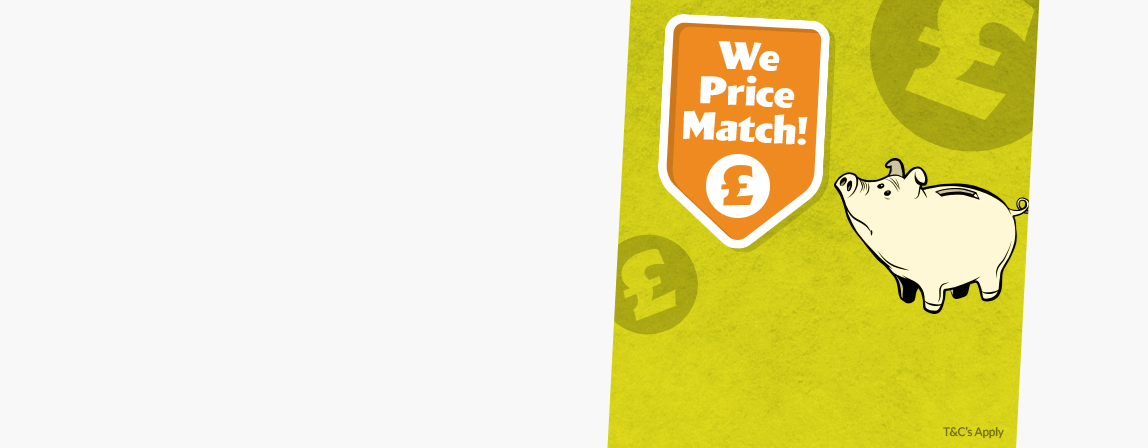 Price Match Guarantee on all in-stock items