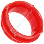 Red Threaded Vacuum Hose Connector
