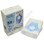 Vacuum Cleaner MegaAir SuperTEX Dust Bags (Type P)