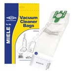 Electruepart Compatible Miele (Type U) 3D Vacuum Dust Bags with Filter - Pack of 5 Bags