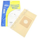 Electruepart BAG302 Vax Vacuum Dust Bags (C Type) - Pack of 5