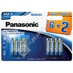 Panasonic AAA Evolta Alkaline Batteries
