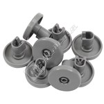 Compatible Lower Dishwasher Basket Wheel - Pack Of 8