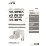 Camcorder Instruction Book GRDX300EK