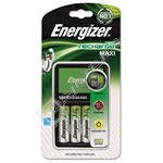 Energizer Accu Recharge Maxi Charger + 4 x AA Batteries