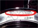 Miele Washing Machine Model Number Closeup