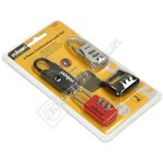 Rolson Combination Lock Set - Pack of 4