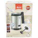 Melitta 6758124 Cremio II Milk Frother – Stainless Steel