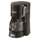 DeLonghi ICM15240BK Filter Coffee Machine