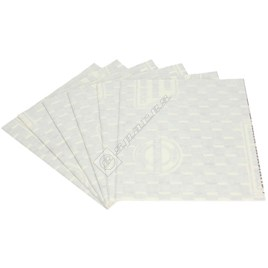 Bosch Cooker Hood Standard Size Paper Grease Filter - Pack of 6 - ES478743