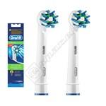 Braun Oral-B Power Crossaction Toothbrush Heads - EB50-2