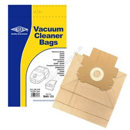 Tornado Electruepart BAG133 Electrolux E37 Vacuum Dust Bags - Pack of 5 for TO2450 - ES540239