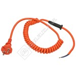 Flymo Hedge Trimmer 2 Pin Mains Cable - European