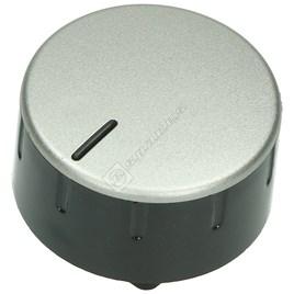 Bosch Hob Control Knob - Silver & Black for PCK755DIT/01 - ES976353