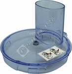Food Processor Lid Assembly