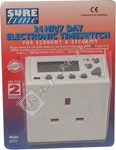 Timeguard 24 Hour & 7 Day Electronic Timeswitch