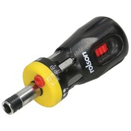 Rolson Stubby Ratchet Screwdriver Set - ES1584156