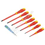 Rolson 7 Piece VDE Screwdriver Set