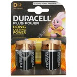 D Batteries (Pack of 2)