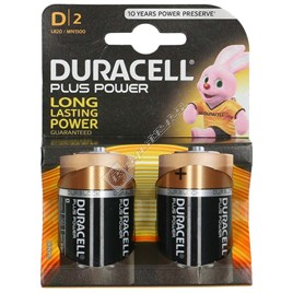 Duracell D Batteries (Pack of 2) - ES1671577