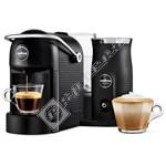 Lavazza Jolie Plus Black Coffee Machine & Milk Frother