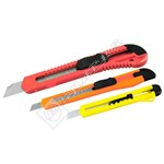 Rolson 3 Piece Utility Knife Set