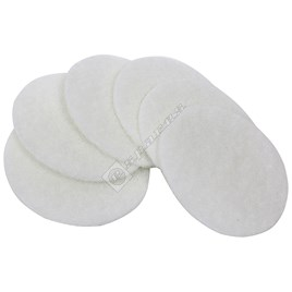 Electrolux White Polishing Disk (VD46) - Pack of 6 - ES660905