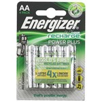 Accu Recharge Power Plus AA Batteries - Pack of 4