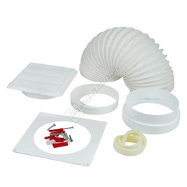 Universal Cooker Hood 1m Vent Kit - ES509971