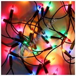 The Christmas Workshop 100 LED Multi-Colour Fairy Chaser Lights